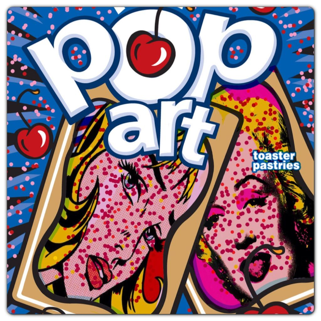 Pop Tart Pop Art Marilyn Monroe
