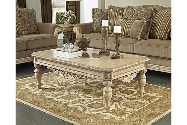 The Ortanique Coffee Table From Ashley Furniture Homestore Afhs
