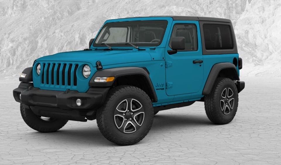 We Re Getting A New Jeep Wrangler Jl Color For 2019 Called Bikini
