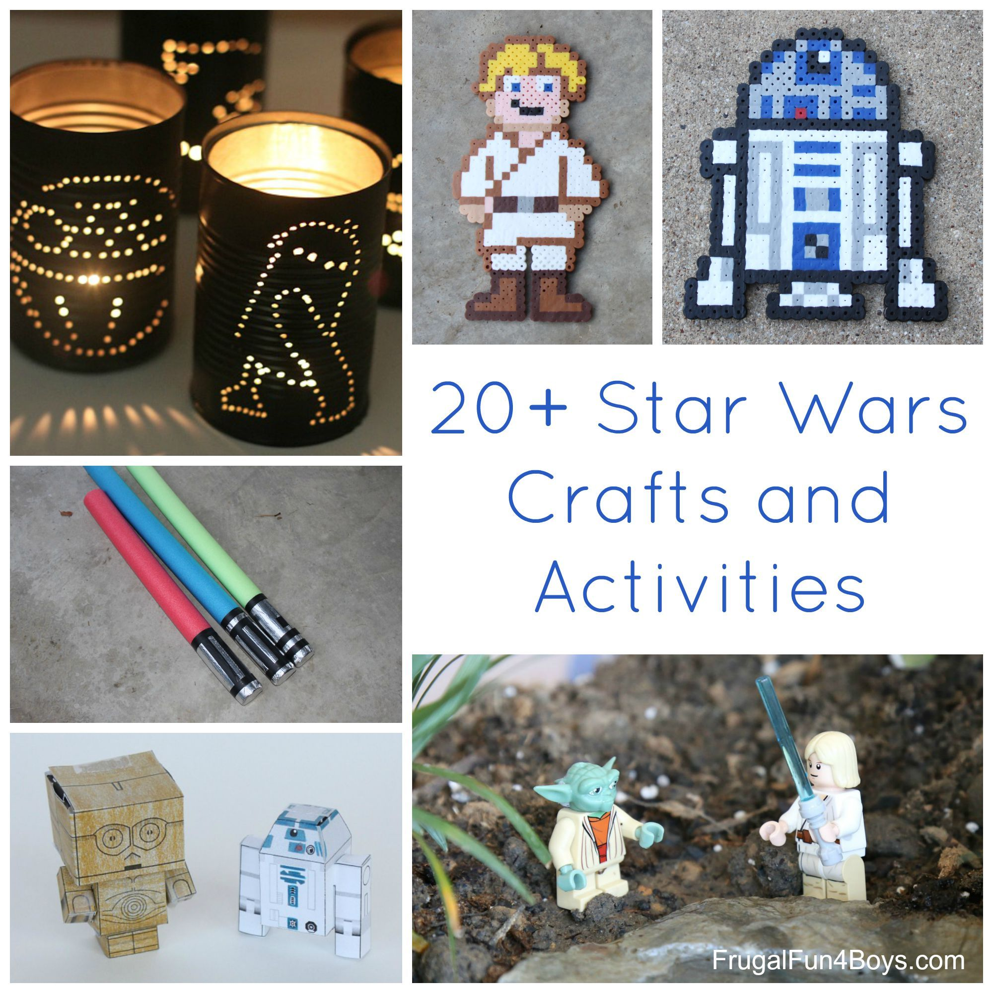 20+ Star Wars Crafts and Activities