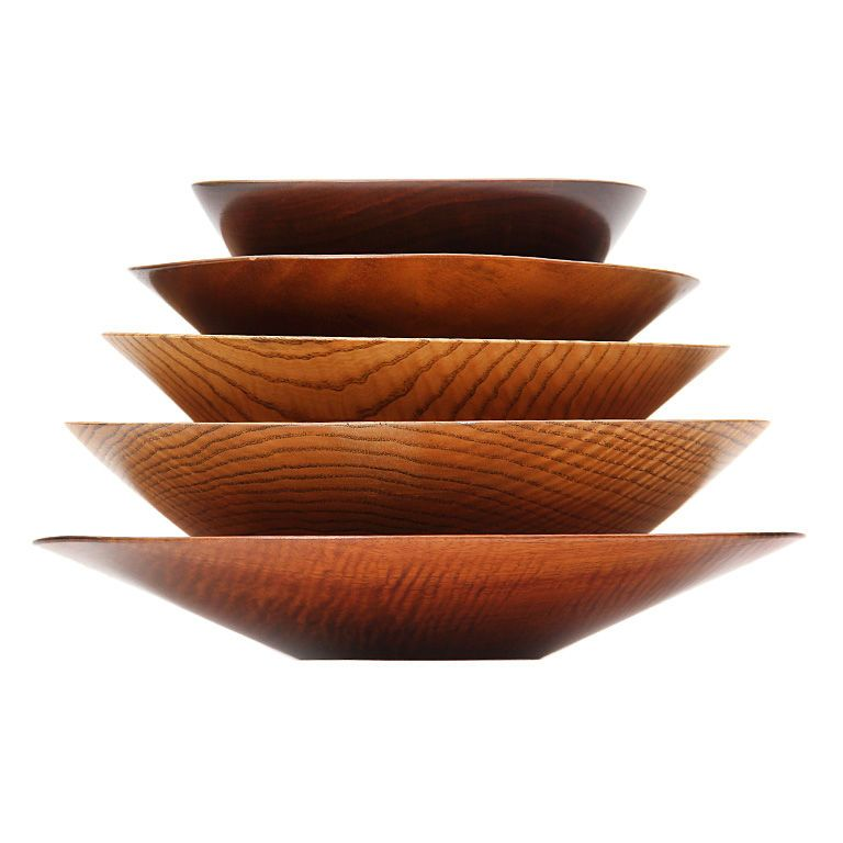 selection of bowls by Bob Stocksdale