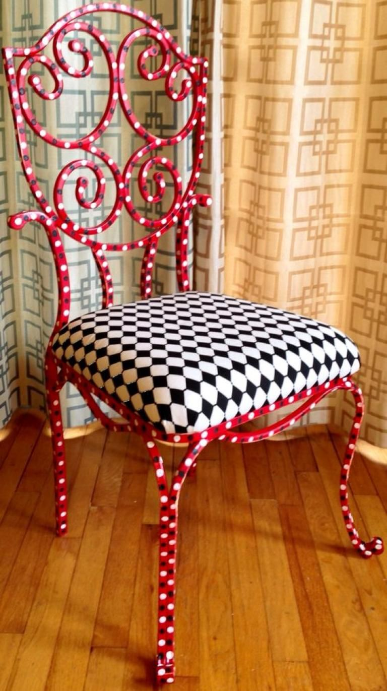 30+Creative DIY Painted Chair Design Ideas Whimsical