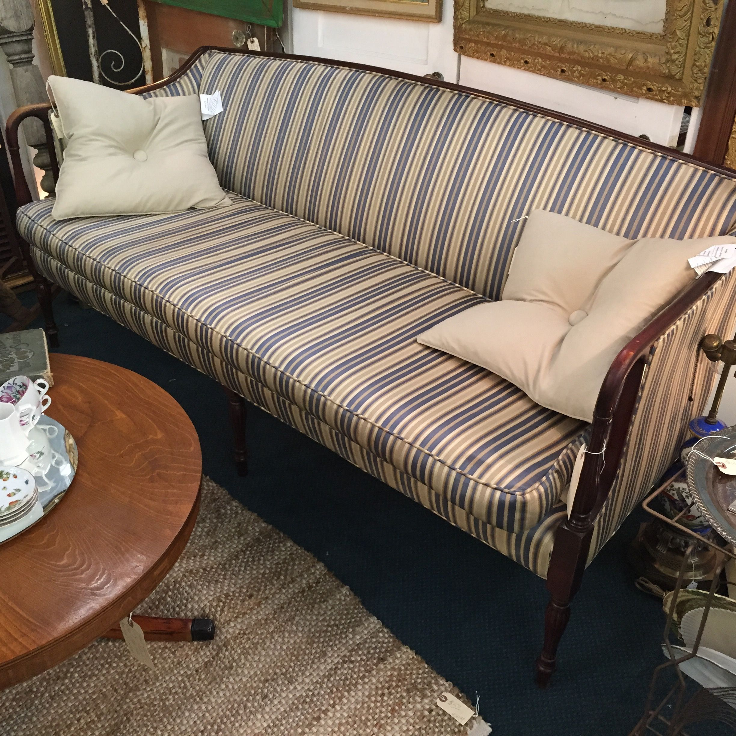 Ready For A Makeover : Vintage Sofa From Staunton Antique Center [booth :  Vintage Chemistry] In Staunton, Virginia