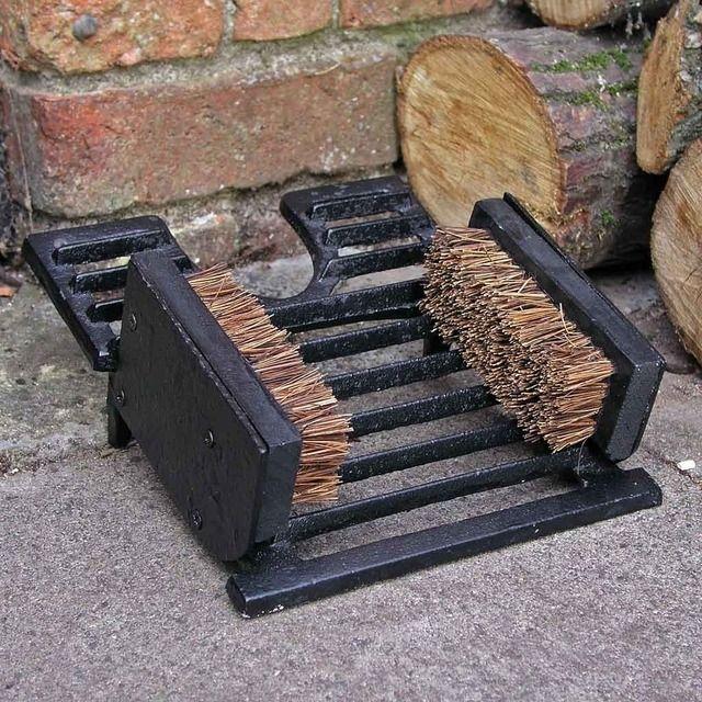 Hearth /& Hand Boot Scraper     Heavy Iron