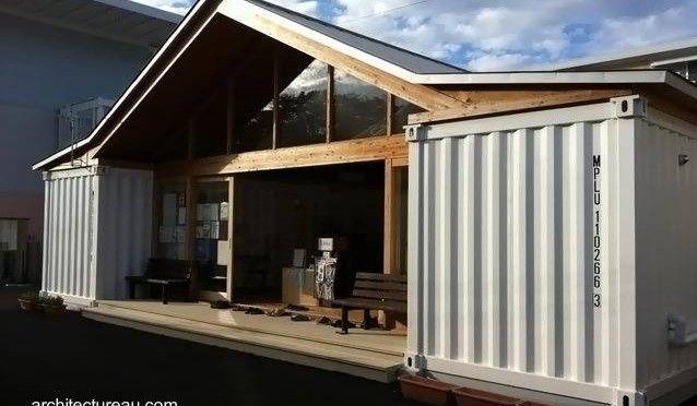 Dise o del arquitecto japon s shigeru ban contenedores Casas con contenedores precios
