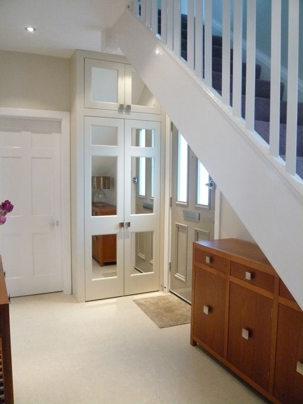 #hallway #storage designed by, @Anne-Marie Taylor , The DecorCafe expert member, helping people to #createthehomeyoulove www.thedecorcafe.com