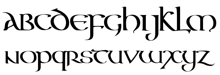Tattoo Script Font Letters Old English ( love the style of ... |Celtic Script Tattoos