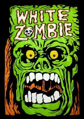 Old White Zombie Art White Zombie Rob Zombie Art Zombie Art