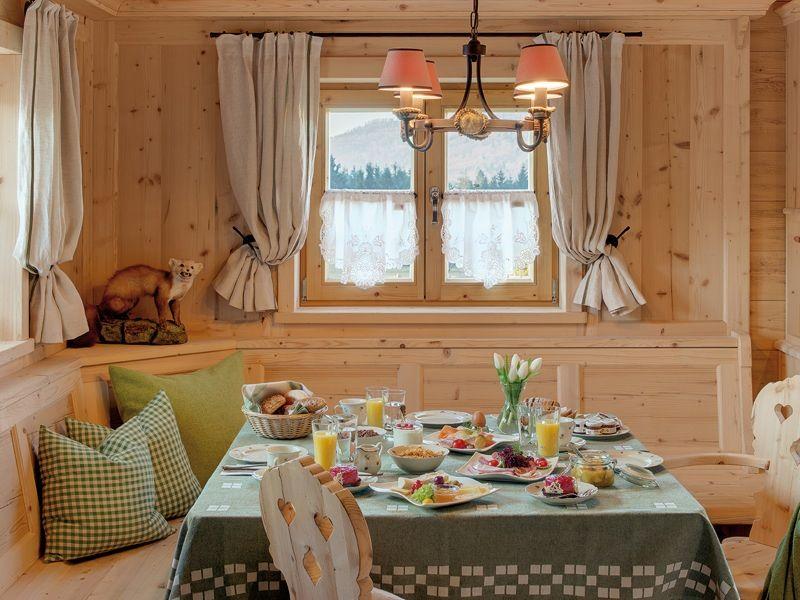 Gourmetfr hst ck im privaten chalet inns holz Innenarchitekt wohnungseinrichtung