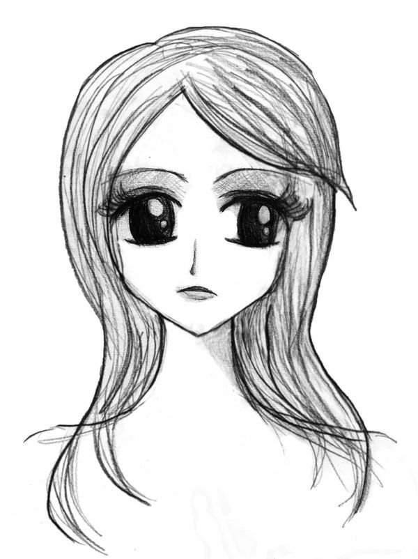 Pin By Frank Giampietro On Fg Learns To Draw Cartoon Girl Drawing