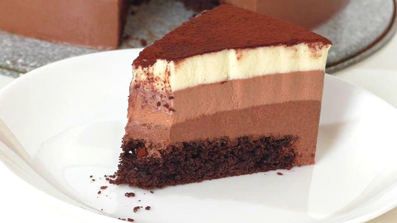 торт шоколадная симфония с муссом рецепт с фото