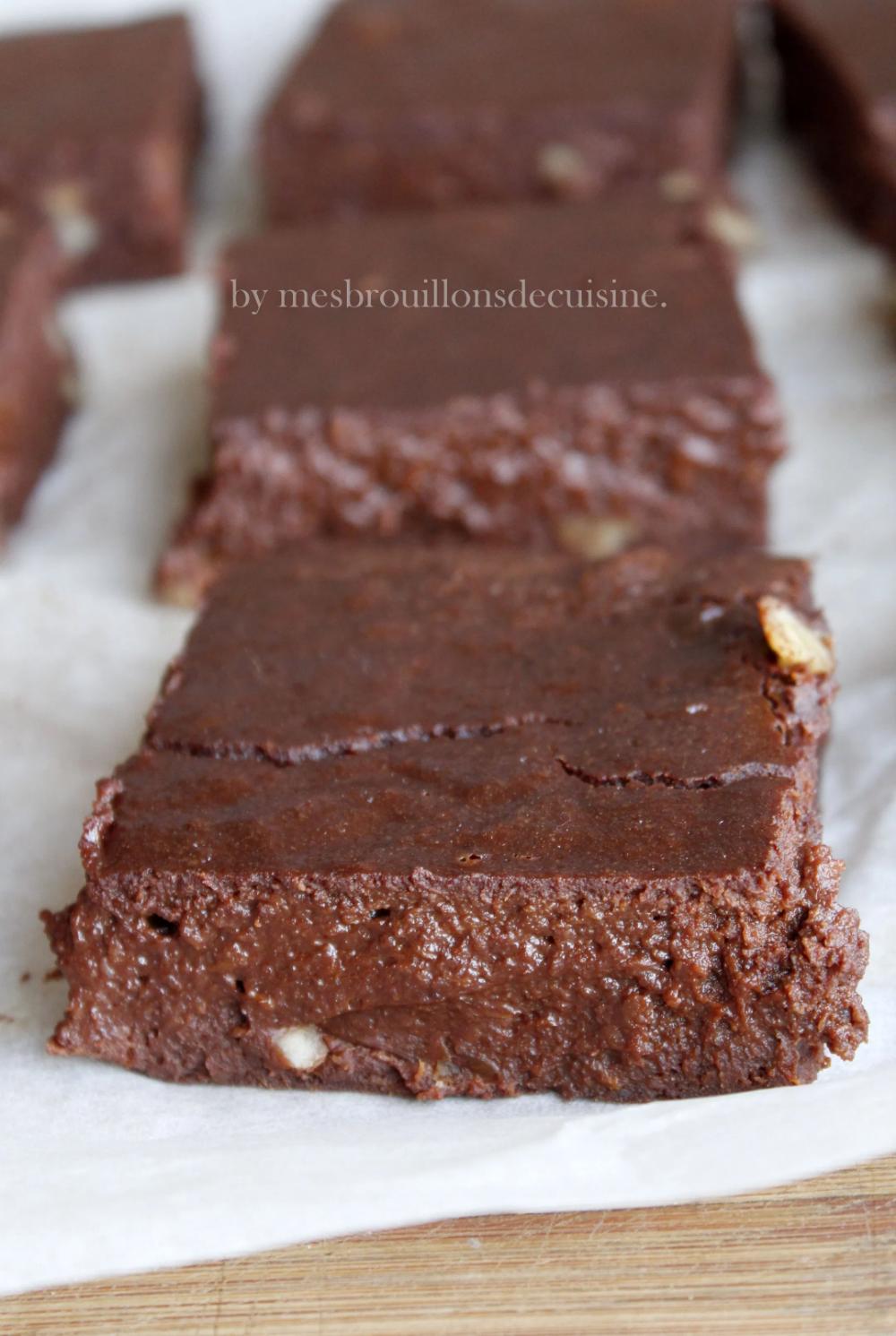 """""""Brownie"""" au chocolat et patate douce {sans matière grasse ..."""