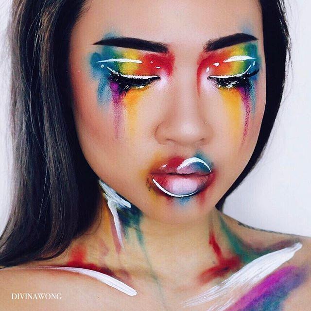 Halloween Makeup Instagram Analytics Crazy Makeup Creative