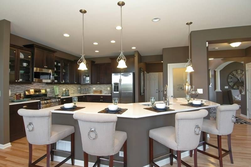 Kitchen Model Homes modern floor plans maximize open spaces | open floor, modern and