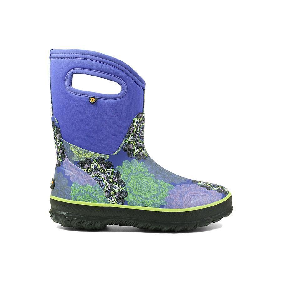 Classic Mid Mandala Womens Rain Boots Winter Boots Women Boots
