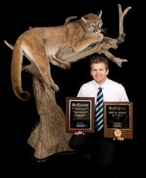 World Taxidermy Championships | 2009 world taxidermy championships master best in world large mammal ...