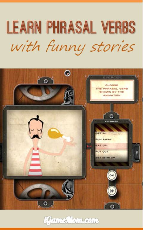 Learn and Practice English Phrasal Verbs with Stories