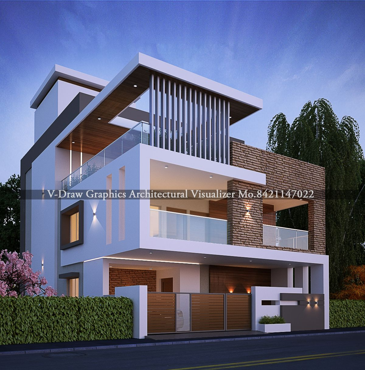 Modern House Design In Ur Thought Duplex House Design House Design Photos Bungalow House Design