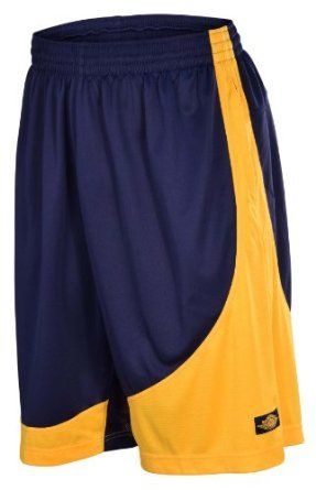 Jordan Nike Men s Air I Muscle Basketball Shorts-Navy Gold http    e1e34de2cc22