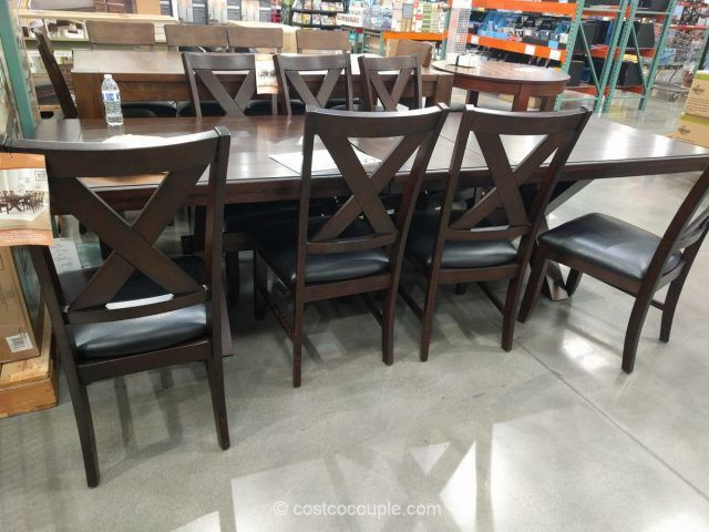 Bayside Furnishings 9-Piece Dining Set Costco | Our house ...