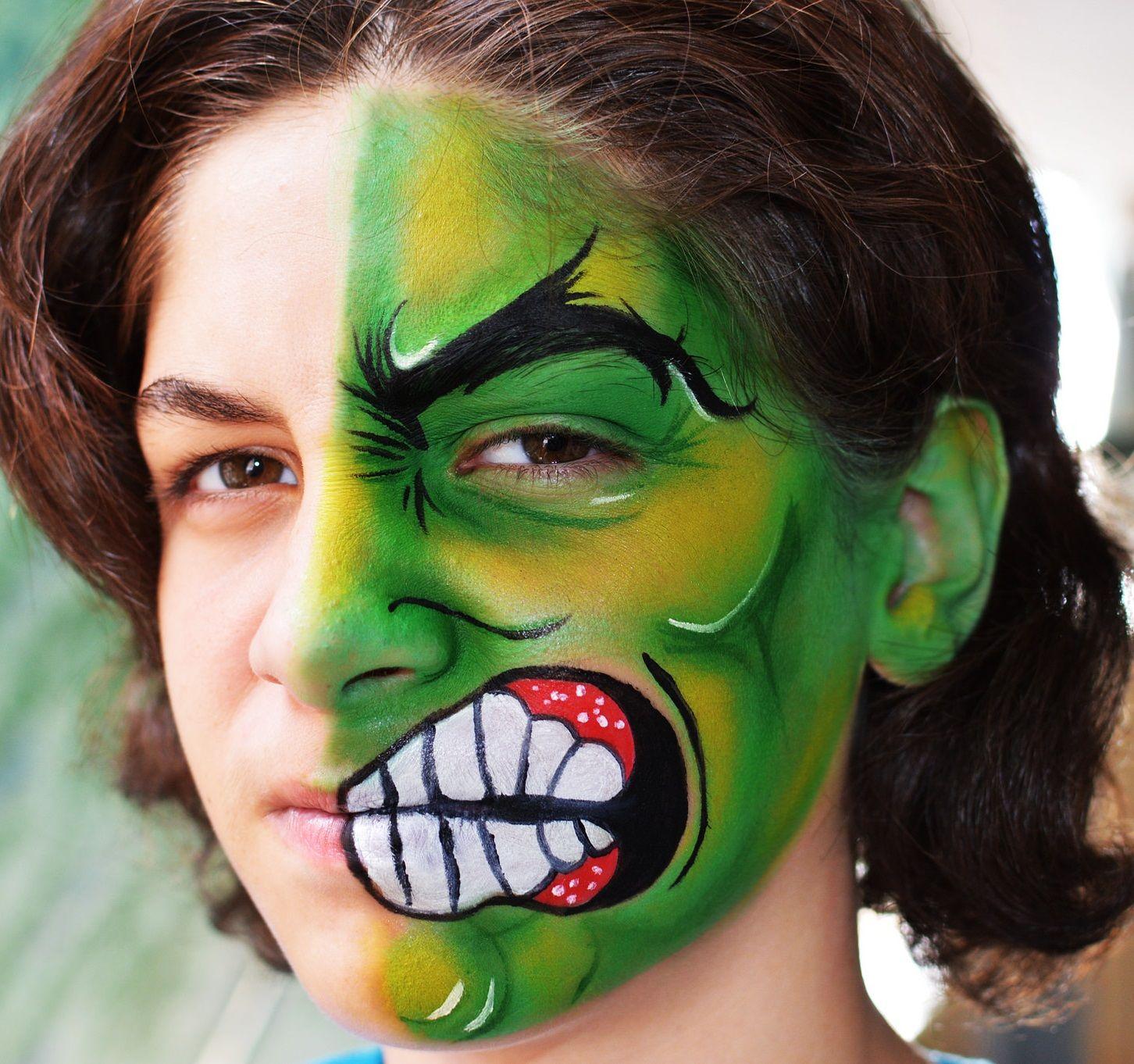 Pintacaras Facepainting HULK FOLLOW ME ON YOUTUBE ...
