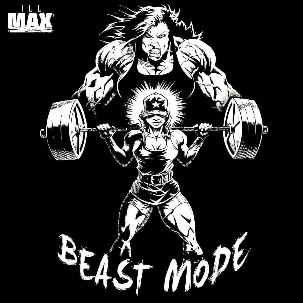 Always Be A Beast Mode Beast Mode In 2019 Bodybuilding