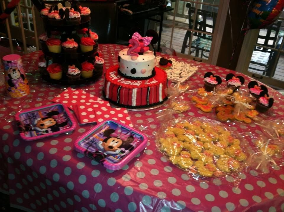 Minnie Mouse 2 year old Birthday Party Bithday party, 2