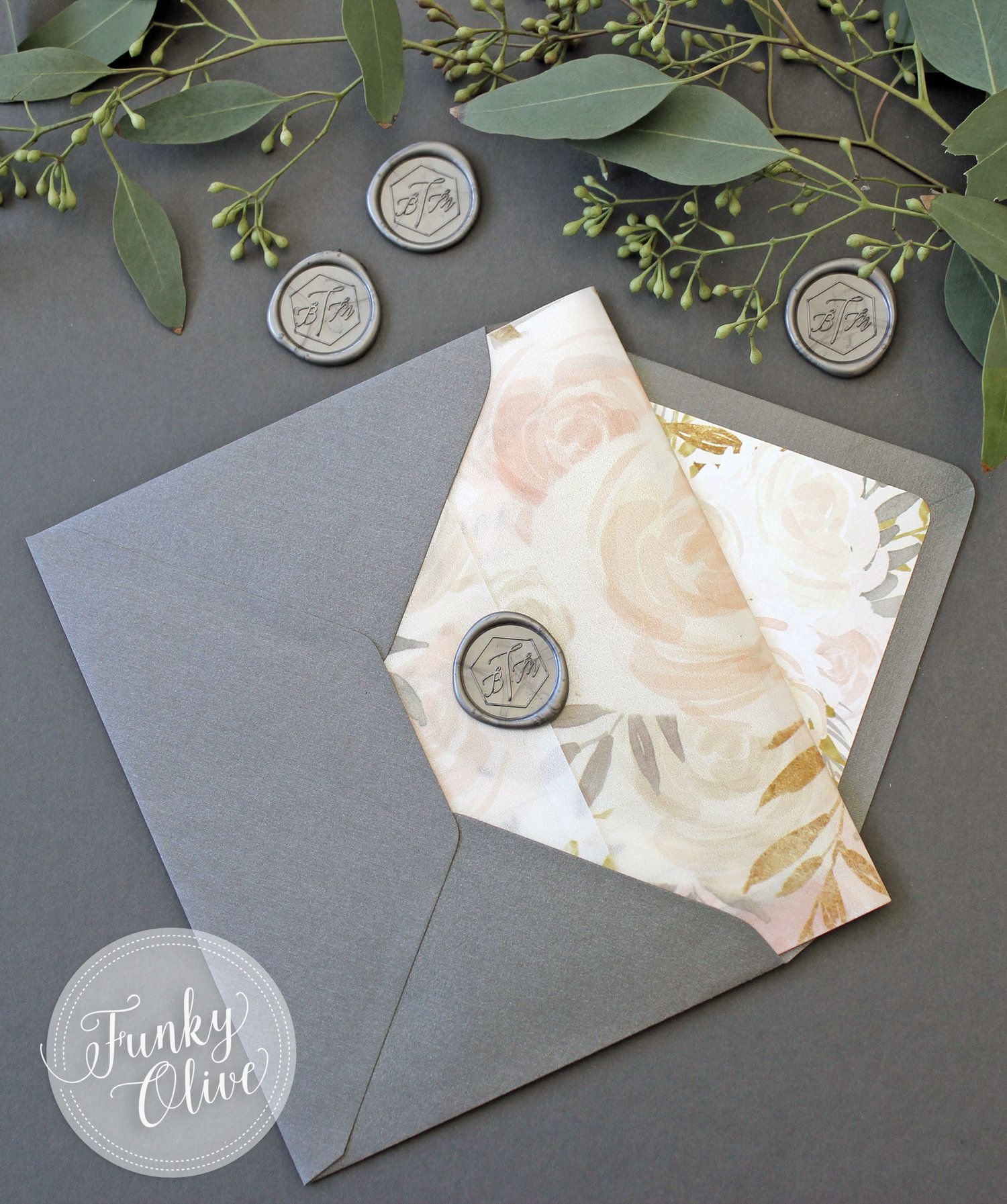 Vellum Wrap Invitation Wax Seal | Vellum Wrapped Invitations ...