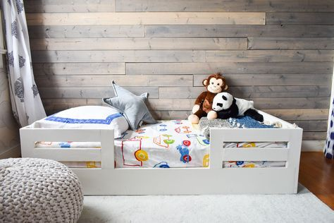 How to Build a Toddler Bed with Bed Rails images