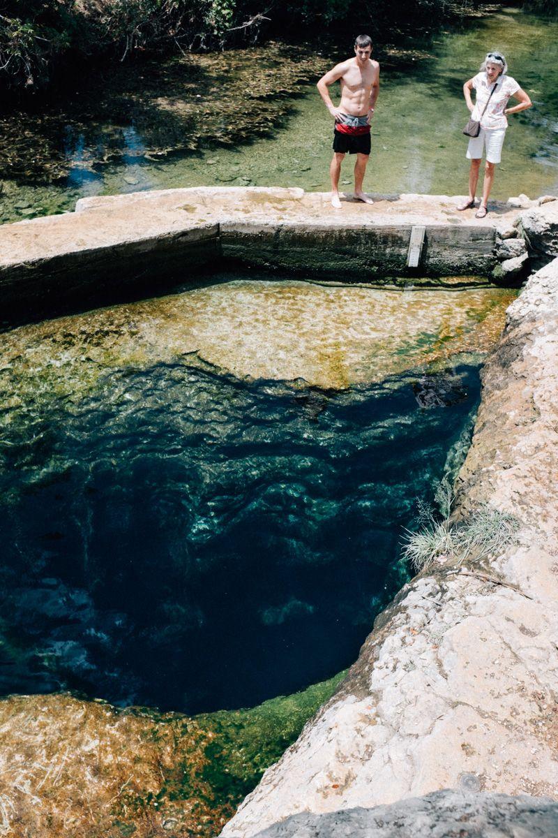 Jacob's Well, Wimberley, Texas. Fujifilm X100T.