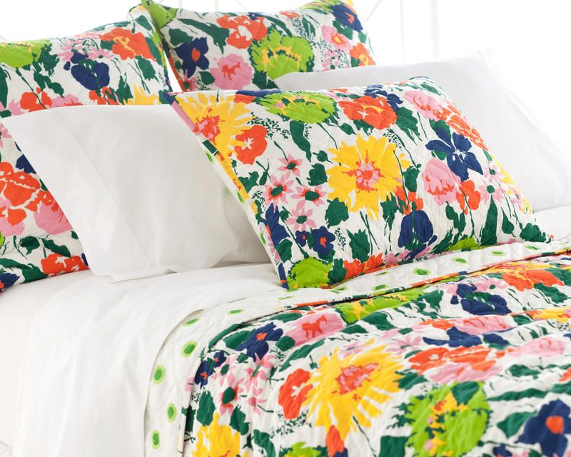Pine Cone Hill » Melody Quilted Sham  bold!