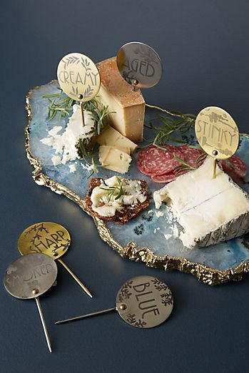 Agate Quartz Serving Board #kitchencollection