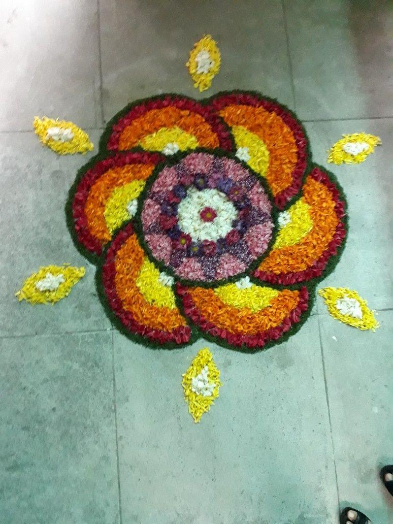 Pookkalam Athapookalam designs Simple   Pookalam design ...