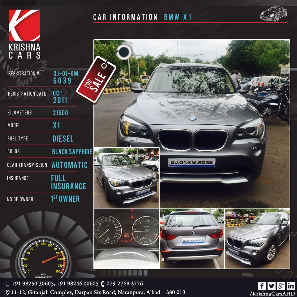Usedcar For Sale Car Information Bmw X1 Registration Gj 01 Km