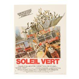 Soleil Vert Affiche Film Soleil Vert Film