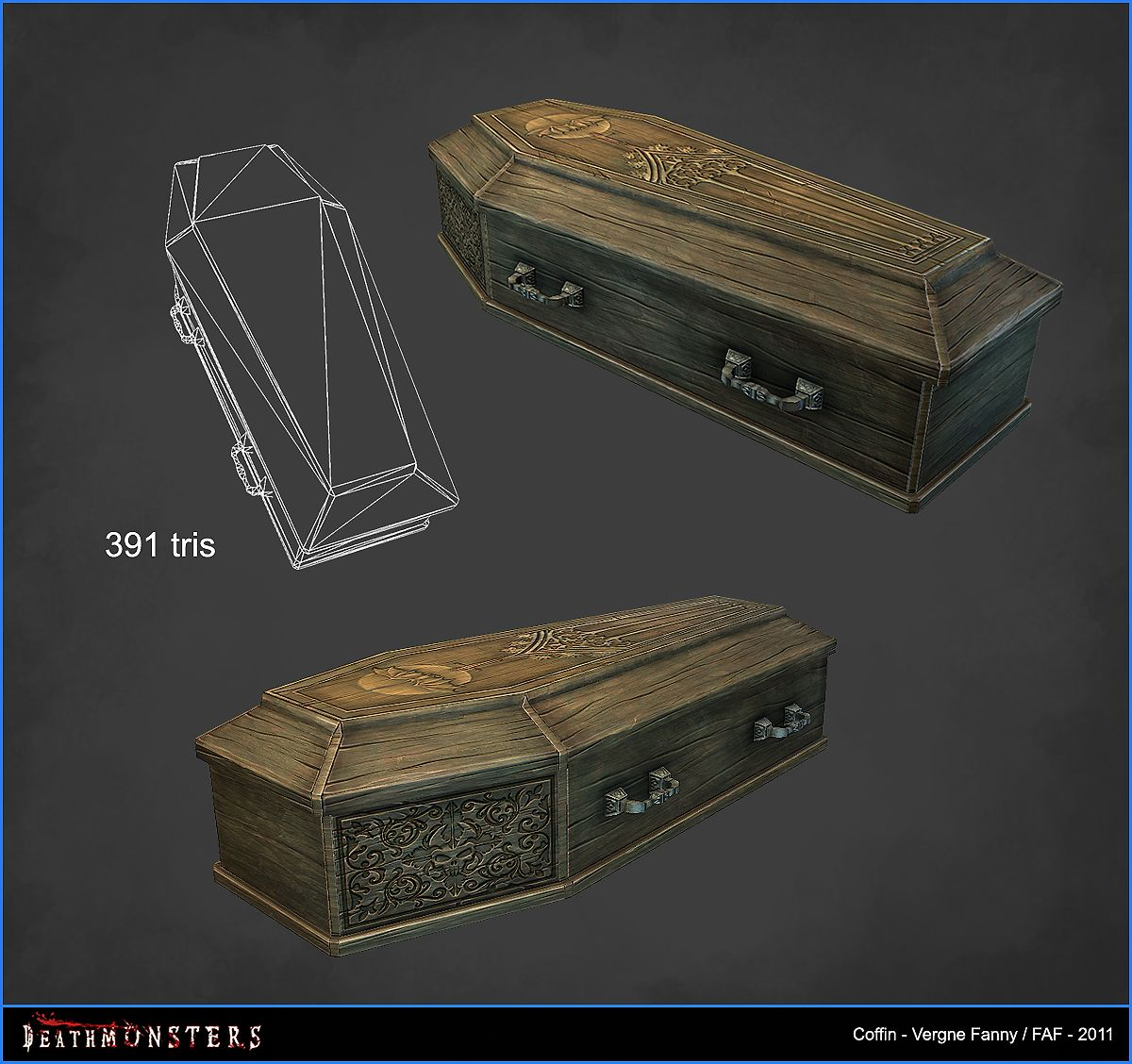 DeathMonsters (2011)       BIRDIES ROADParis FRANCE  Period : 6 months  Realtime Engine : Unity  Plateform : XBox 360   Shown with permiss...
