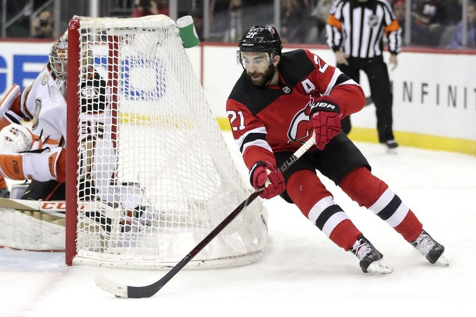 Palmieri, Devils Beat Coyotes 21 to End 7Game Skid New