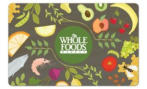 25 Egift Card To Whole Foods Market 5 Back In Groupon Bucks Food Gift Cards Whole Foods Gift Card Creative Food Gifts