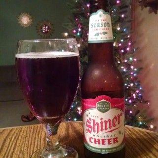 Shiner Holiday Cheer - Spoetzl Brewery - Untappd