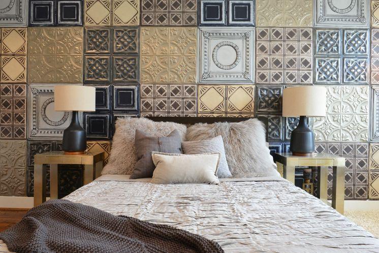 Industrial Bedroom by Contour Interior Design, LLC