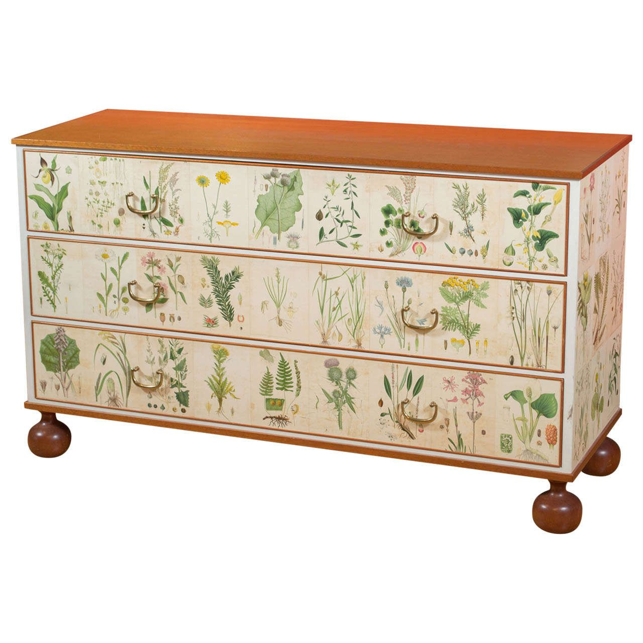 Josef Frank - Chest of Drawers | From a unique collection of antique and modern dressers at https://www.1stdibs.com/furniture/storage-case-pieces/dressers/