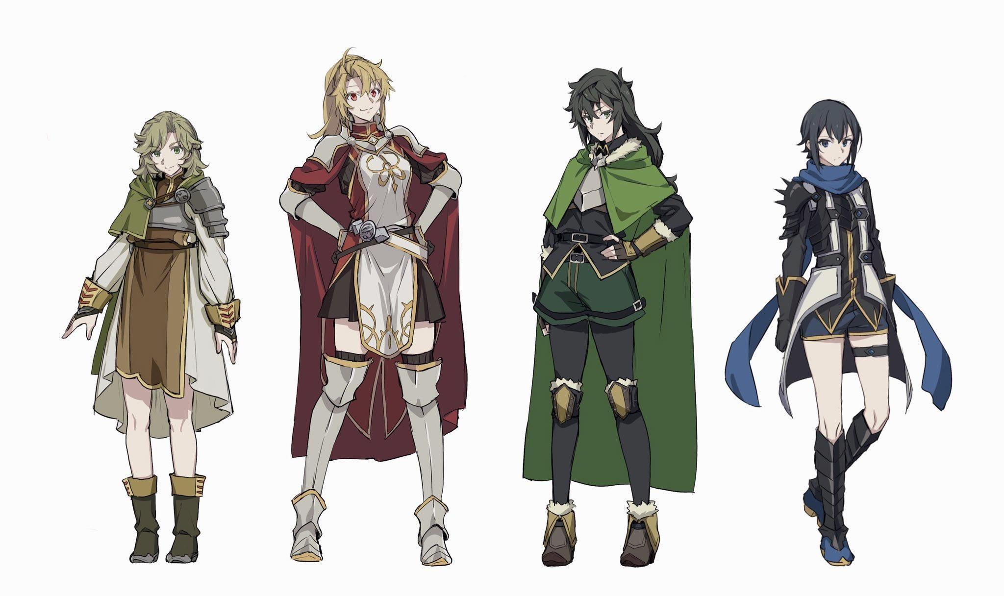 The Rising Of The Rule 63 Rule 63 Anime Hero Genderbend