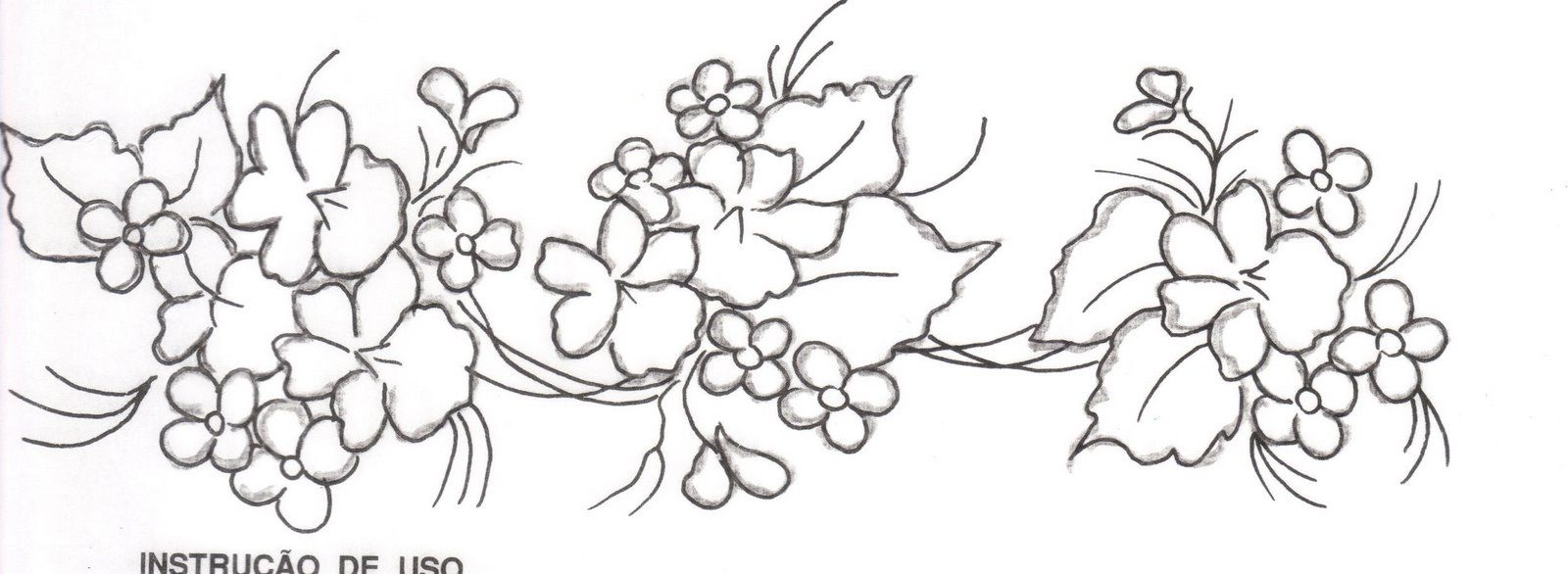 Pin De Maria Edelmira Em Orillas Desenhos De Linha Flor