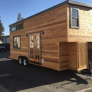 A Stunning 28u0027 Luxury Tiny Home From California Tiny House. Its Interior  Features Two