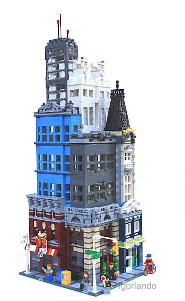 City block - I love the chaos!