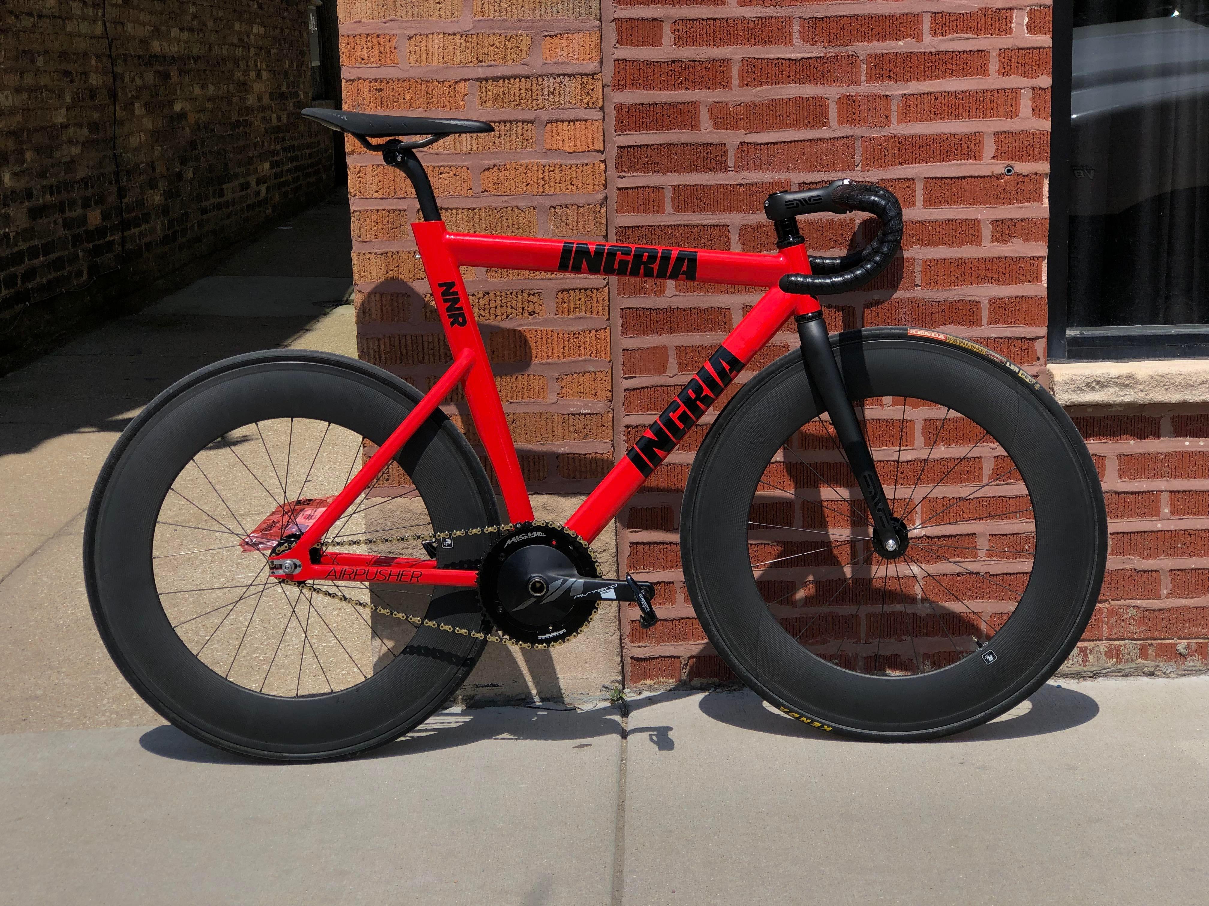 Ingria Airpusher Fixedgearbicycle Fixie Bike Fixed Gear