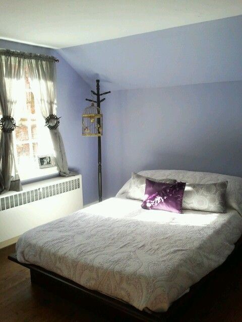 purple bedroom benjamin enchanted pretty lavender