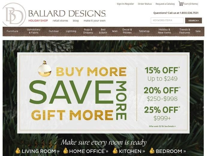 Ballard Designs Coupons Code Codes Coupon Discount Outlet Atlanta Cool Home Design And Decor Shopping Promo Code