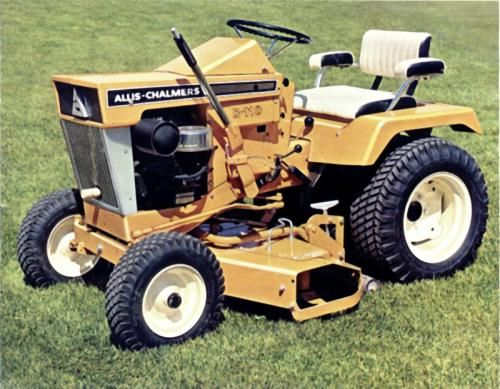 Allis Chalmers B 212 Garden Tractor With Images Tractors