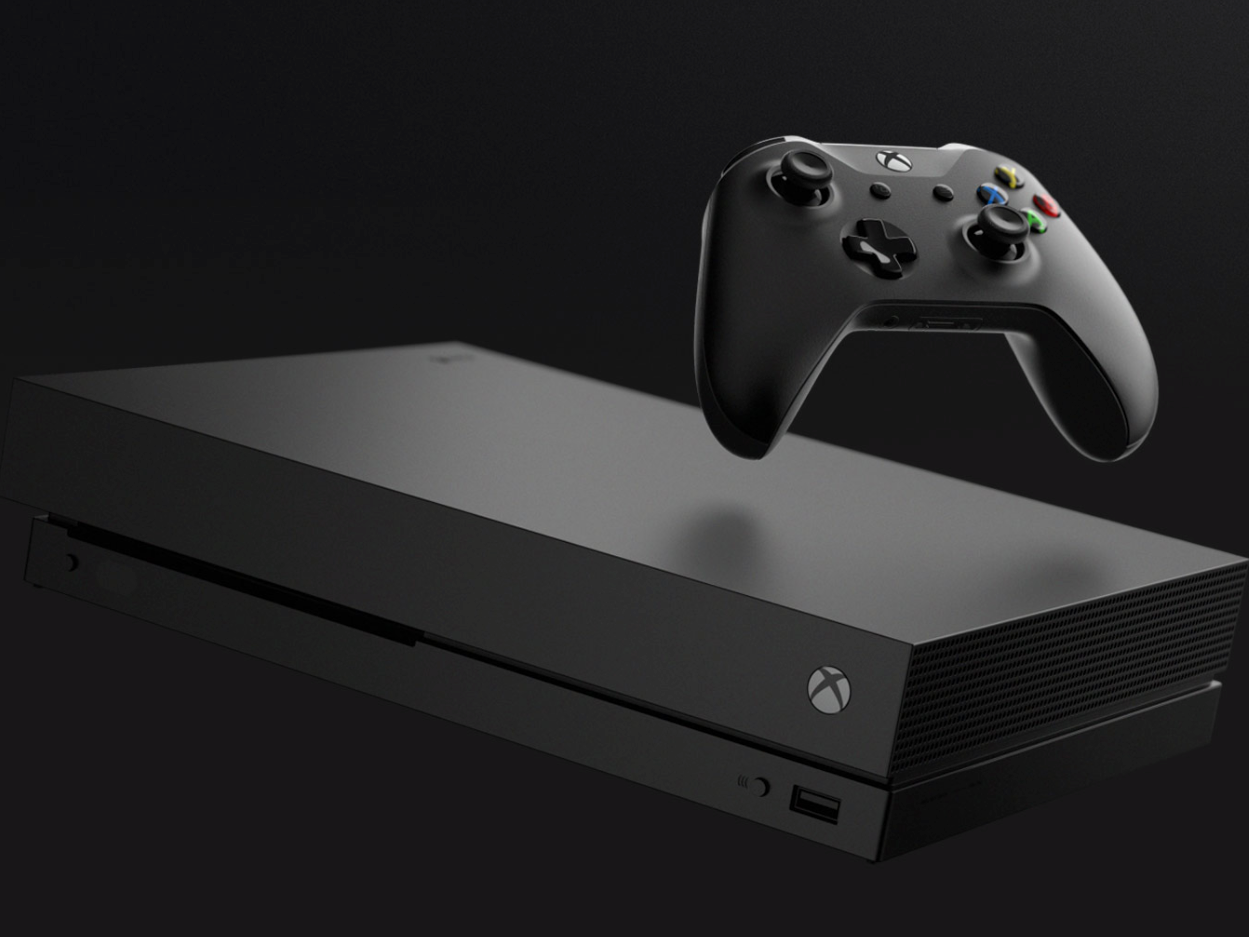 Microsoft S Xbox One X Gets Positive Marks From Reviewers Game Console Xbox One Surge Protectors